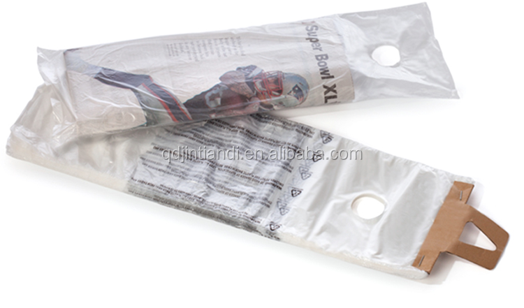 Wholesale waterproof cheap plastic newspaper delivery poly bag