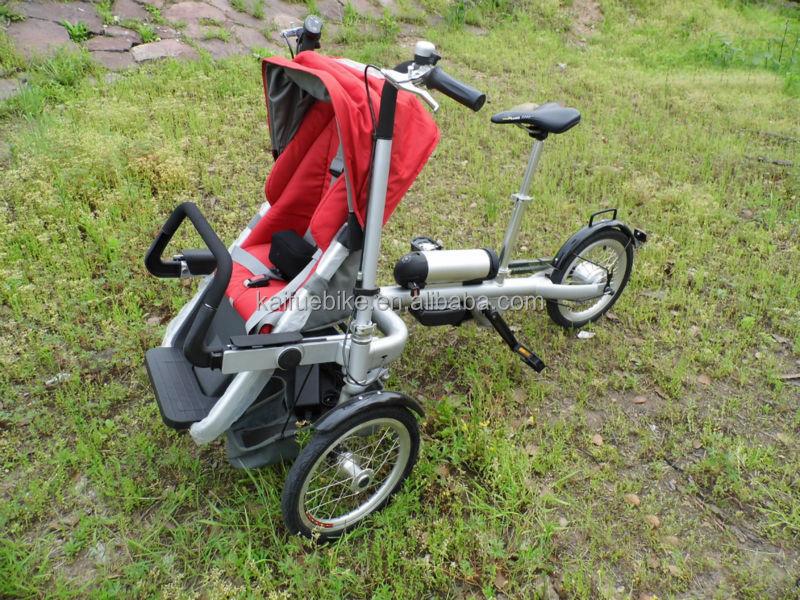 Folding adult electric motor baby stroller bike buy Motorized baby stroller