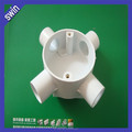 hot sell fireproof 4 way PVC electrical round box