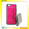 western cell phone case TPU Back Cover Case With Card Holder Kickstand for iphone 6
