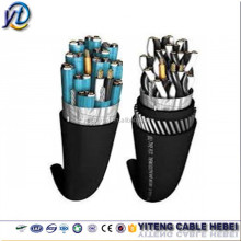 Copper conductor/PVC (PE) insulation/braided copper wire shield/PVC jacket , flexible computer cable