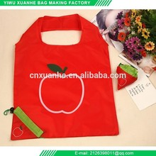 R&H Factory direct flower shaped foldable tote bag