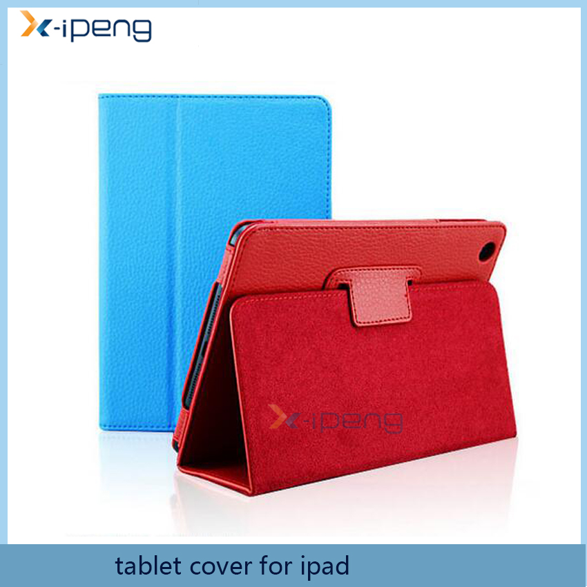 2017 new arrivals low cost Leather flip magnet tablet stand case cover for apple ipad mini