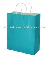 white kraft paper bag new design