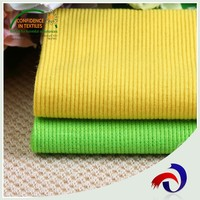 China supply 95 polyester 5 spandex 30S striped 2x2 knit rib fabric for cloth