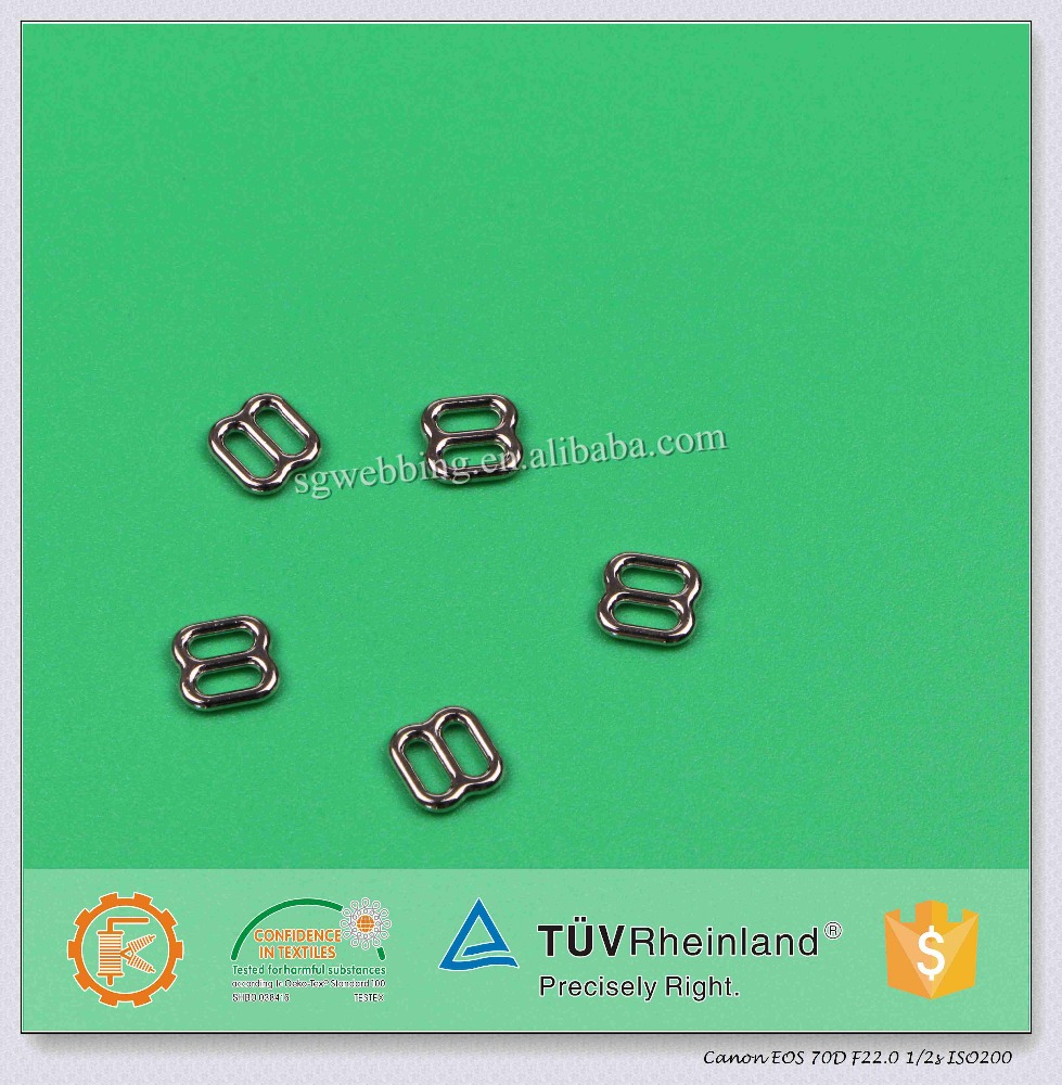 4mm metal bra slider with factory price