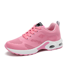 Comfortable Lightweight Action Girls Air Cushion Sports Shoes for Women