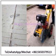 Asphalt crack sealing machine 13HP concrete filling equipment