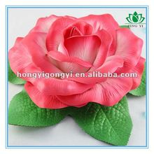 the biggest decorative and weding artifical floating foam rose flower