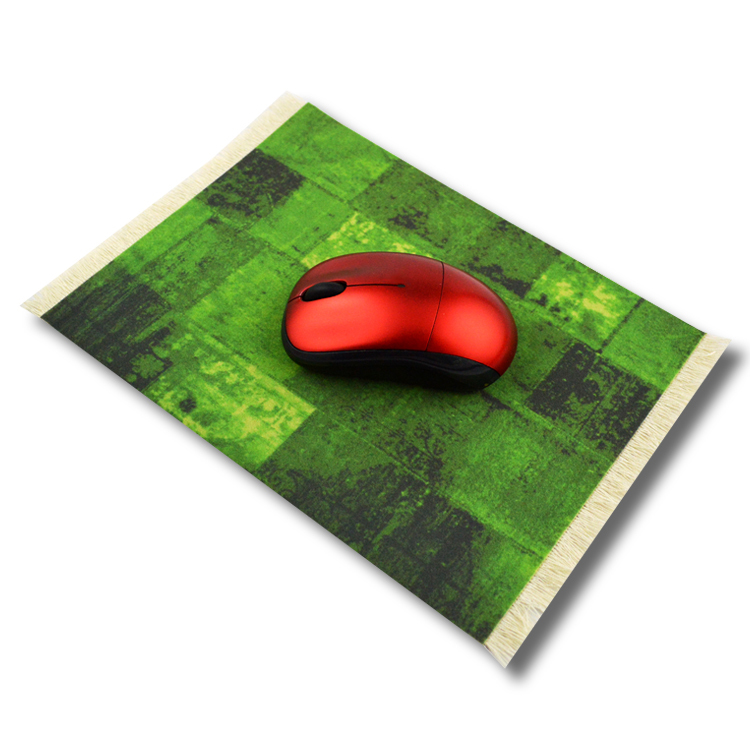 fashion design printed custom carpet mousepad