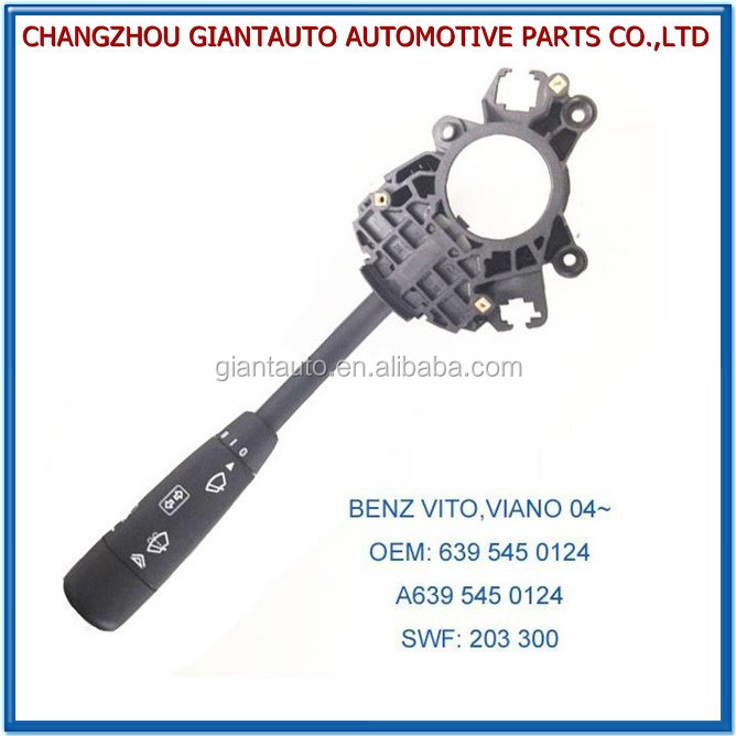 COMBINATION SWITCH FOR BENZ VITO/VIANO 2004 OEM:6395450124/639 545 0124/A6395450124/A639 545 0124 SWF:203300/203 300