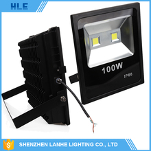High power die cast aluminum housing ip65 10w 20w 30w 50w 70w 100w 200w outdoor cob led flood light