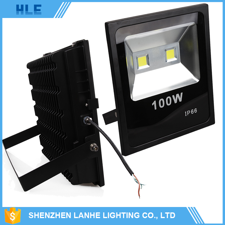 high power die cast aluminum housing dimmable ip66 10w 20w 30w 50w 100w 200w outdoor cob led flood light
