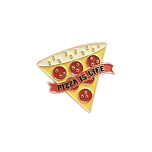 Slice of Pizza Culinary Food Enamel Lapel Pin