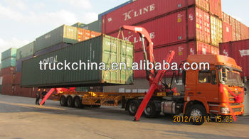 SANY side lifter container semi trailer in 2 layers