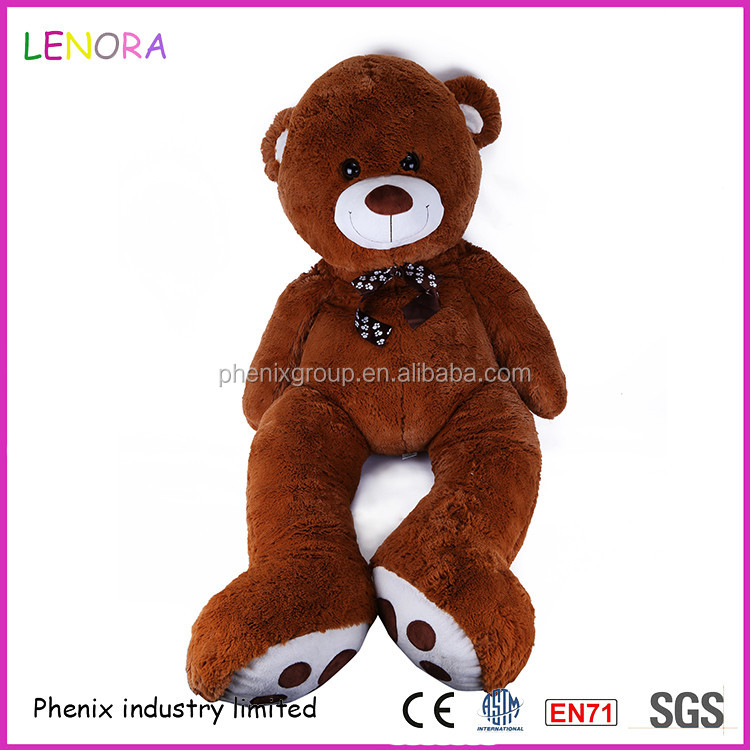 Top selling various color stuffed soft purple 250cm teddy bear plush toy large size for kids