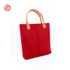 2017 New Arrival Ladies Felt Tote Shoulder Bag For Work Or Shopping
