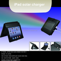 2400MAH PU sheath solar charger for iPad II, hotsale solar charger, stock solar charger