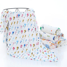 Stock baby muslin wrap gots custom print <strong>120</strong> x <strong>120</strong>