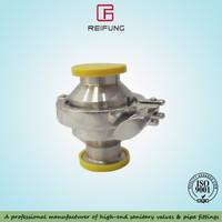 sanitary check valve clamp non-return valve