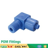 China JULY supply one touch small size pneumatic plastic pipe fittings