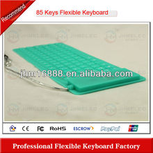 85 keys silicone flexible ultra thin keyboard pc