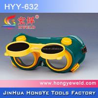 Colorful PVC Welding Safety Goggles For Welding HYD-632