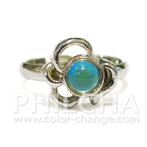 Cute Color Changing Mood Stone Rings for Girls