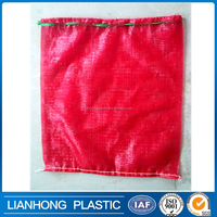 Shandong manufacturer vegetable onion mesh bag with any color you want,cheap price tubular bag for vegetables and Fruits packing