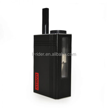 Atman Almighyt Vaporizer with built-in mini grinder dry herb vaporizer mod