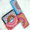 HIPPIE BOHO thai handmade festival hmong Hil Tribal embroided cotton long wallet purse