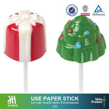 3 inch jelly lollipop candy paper sticks marshmallow sticks