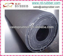 Industrial Black Cloth Inserted Neoprene Rubber Sheet