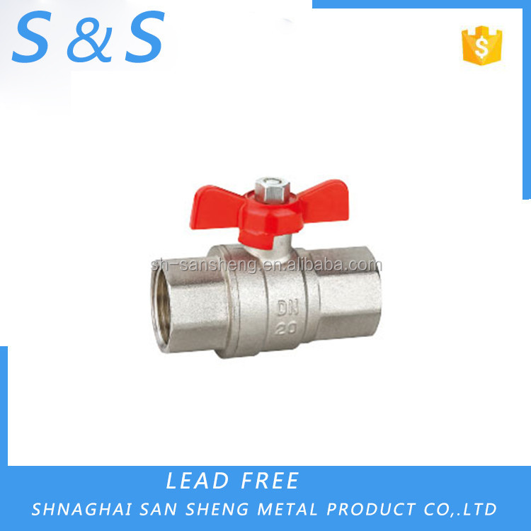 Low price hand operated cw617n 600 wog ball valve DN20 with CSA UL FM certificated