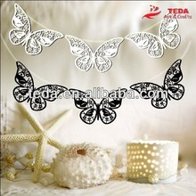 laser cut paper butterfly hanging decoration
