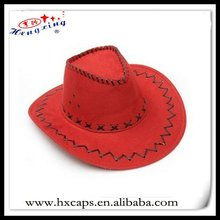 New fashion mexican flat brimmed cowboy hats