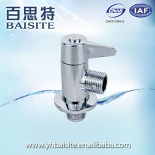 "Manufacturer standard manual 1/2"" abs plastic water angle stop valve"