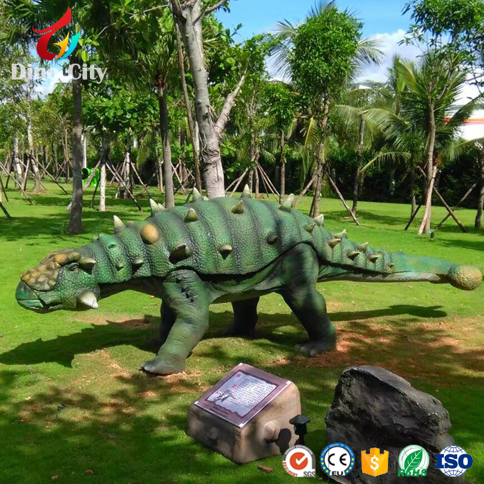Entertainment Theme Park Animatronic Model Dinosaurs