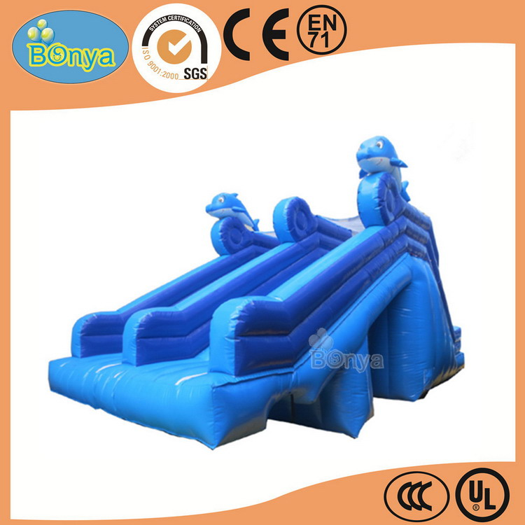 Cost price professional inflatable water slider for kids