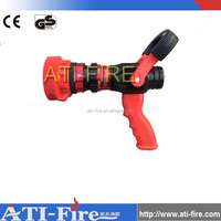 Fire fighting jet spray nozzle fireman water nozzle firefighting hose nozzle