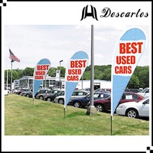 Outdoor decorative promotional flags, flying teardrop flags and banners with OEM service