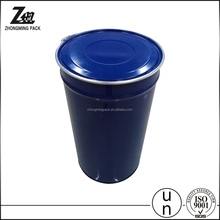 200/208/210 Liter ketchup pack container ,55 gallon painted steel metal drum lock collar cover