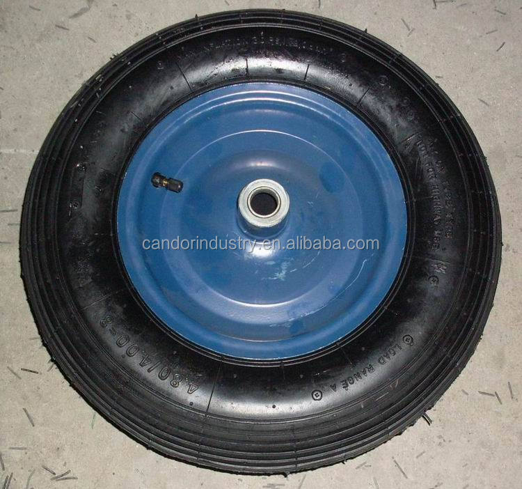 high quality low price 4.80/4.00-8 wheel barrow tyre and tube