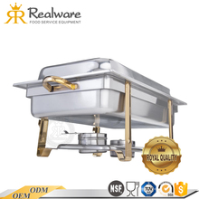 China Good buffet use stove stainless steel round chafing dish With Promotional Price