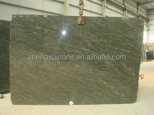 Polished Tropical Green Granite Slab