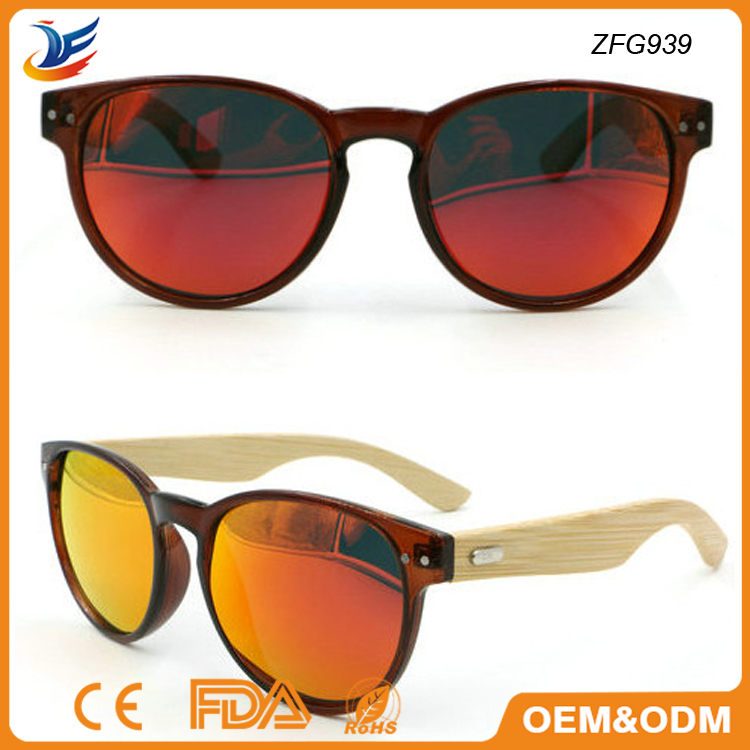 China supply high quality sunglasses revo lenses with handmade temple spring hinge