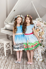 China supplier boutique kids dress girls puffy dresses tulle skirts