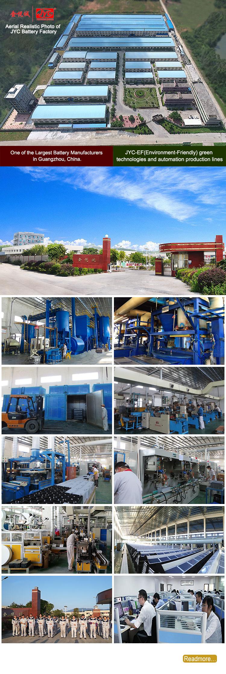 4 JYC battery Factory - lead acid battery