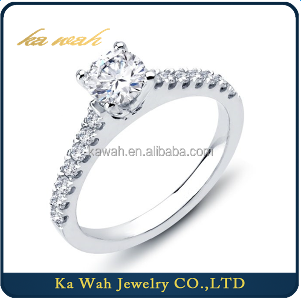 Hot Sale Wholesale GIA Certified Diamond Ring Sparkle Diamond Jewellery