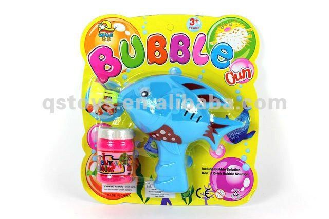 Plastic Bubble Shooter Gun Toy QS121026024